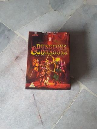 2004 Complete Animated Series of Dungeons & Dragon Dvd's