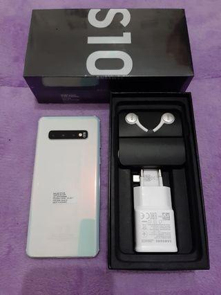 Samsung S10 Prism Whute 128GB SEIN