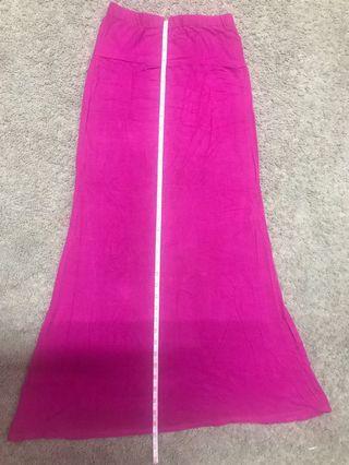Long Skirt...pink colour