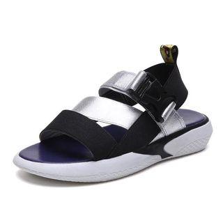 涼鞋銀色(37)