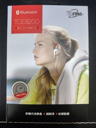 🚚 全新  TCSATA 藍牙耳機 運動藍牙耳機 TCE8200