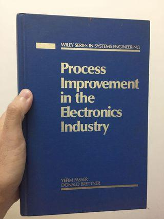 Process Improvements in the Electronics Industry by Yefim Fasser and Donald Brettner