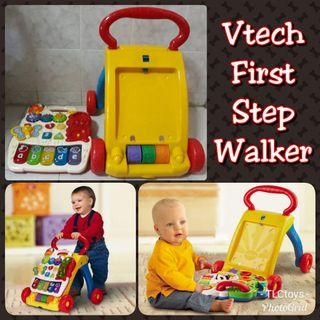 FREE POST Vtech First Step Baby Walker