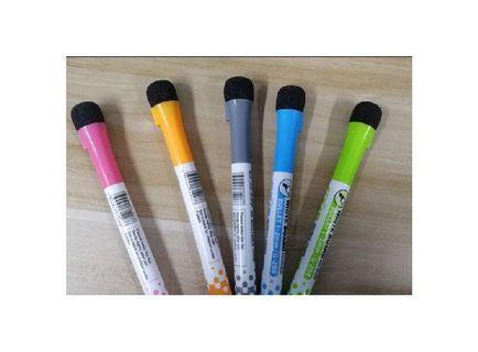 🚚 Gxin 5 colors magnetic whiteboard marker pens
