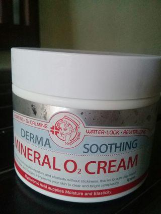 NIGHTINGALE  DERMA SOOTHING MINERAL O2 CREAM (100ML) #maujam