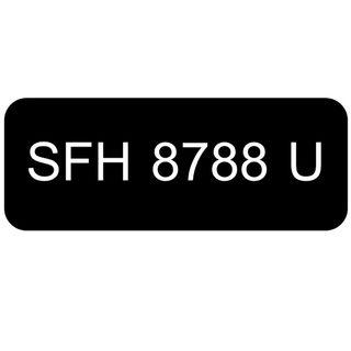 Car Number Plate for Sale: SFH 8788 U