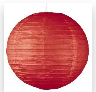 🚚 30cm Paper Lanterns (Large Qty Avail)