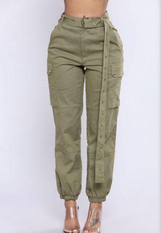 Cargo high waist pants Small and Medium