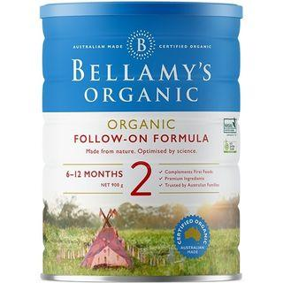 Bellamy's Follow on formula milk Stage 2 Bellamys Stage 3