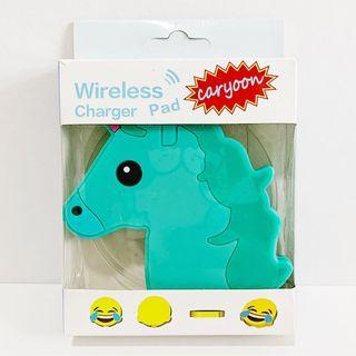 [FLASH SALE] BNIB Unicorn Wireless Charger Pad (GREEN)