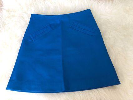 Blue Skirt Zara Original