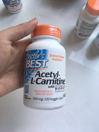Acetyl L-Carnitine vitamin supplement #EndgameYourExcess