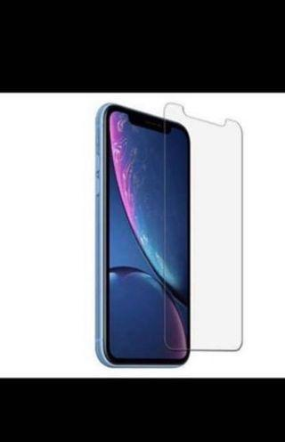Clear tempered glass for iphone X/XR