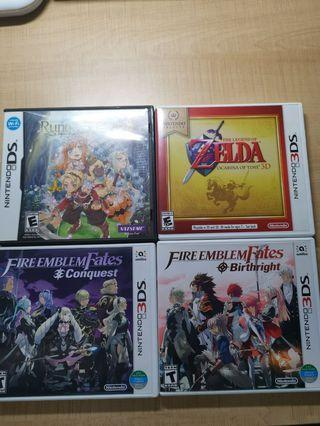 nds and 3ds games