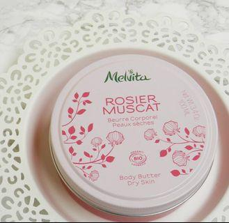 MARK DOWN ! Melvita Rose Hip Oil Body Butter
