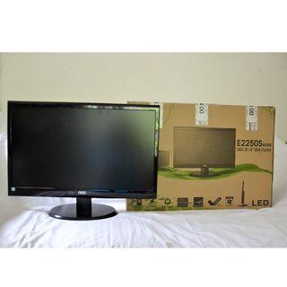 "AOC e2250Swdn Black 22"" 5ms Widescreen LED Backlight LCD Monitor"