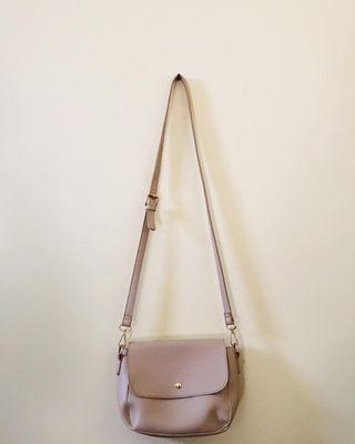 Cream Slim Bag