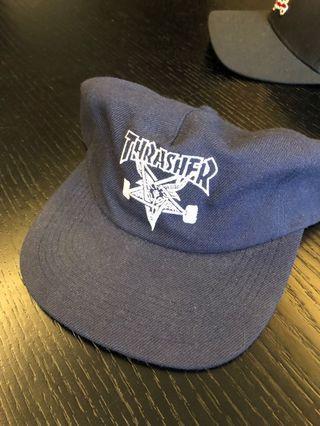🚚 Thrasher滑板帽可調 7成新