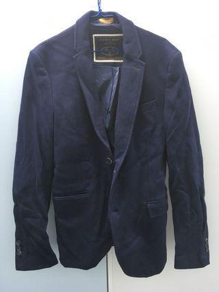 Zara Navy Blue Blazer 深藍色西裝褸