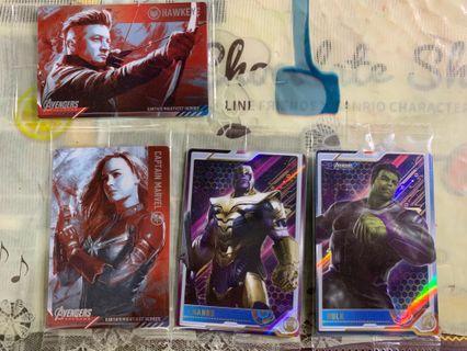 Marvel Avengers Endgame 餅卡