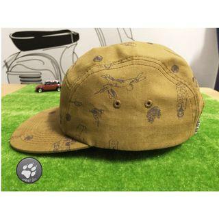 🚚 古著品 POLeR stuff CAMP VIBES 帽 遮陽帽 棒球帽 短帽緣