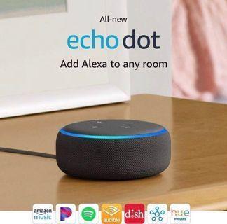 Echo Dot Gen 3 - Charcoal