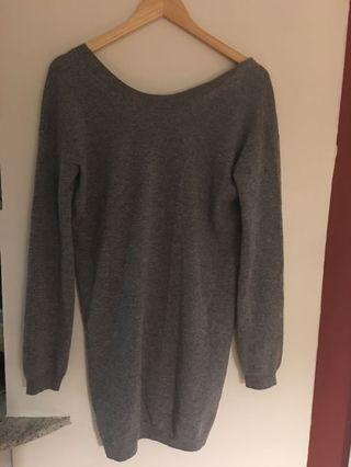 Cashmere babaton longline sweater size S