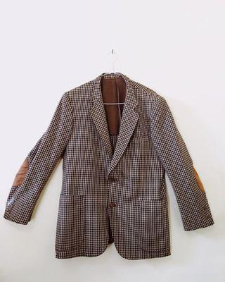 Blazer Grey Stripe