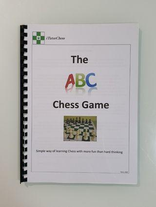 Chess Training Manual : Easy Way for Kids/Adults
