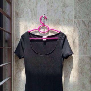 🆕 H&M Black Bodycon Dress #APR75