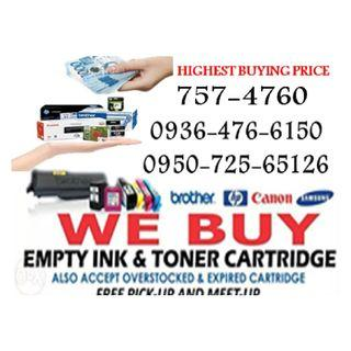 Buyer of Empty Ink Cartridges and Toner