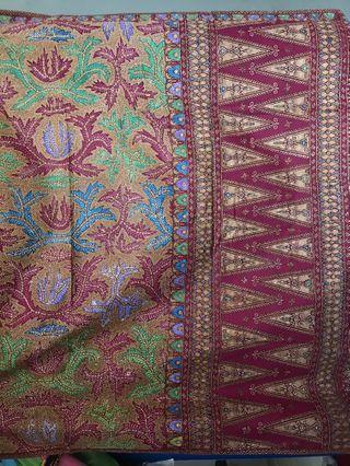 Kain batik tulis lawas antik