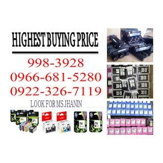 Empty Ink Cartridges and Toner Offering Highest Price