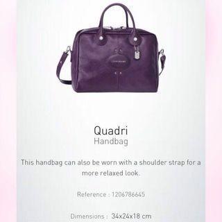 🚚 Longchamp Quadri handbag