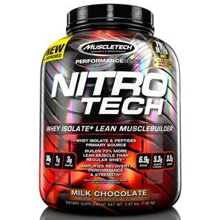 4lbs, MuscleTech, NitroTech, Lean Musclebuilder, Whey Protein, Protein Powder