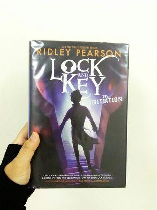 English novel : Ridley Pearson, Lock and Key, The Initiation