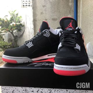 99cf2d66325e Nike Air Jordan 4 - Black Cement