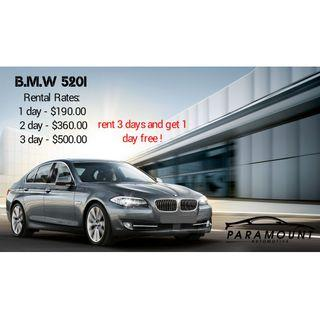BMW 520i (PROMOTION)