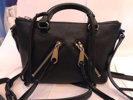 100%real 98%new Rebecca minkoff handbag 真皮 名牌袋