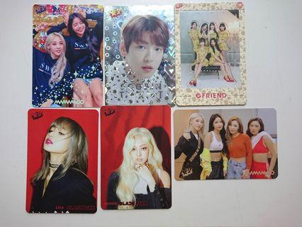 TXT Gfriend Yes card