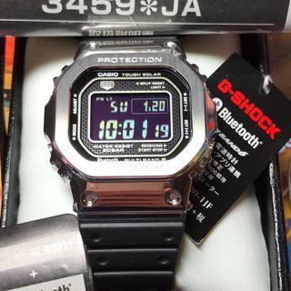 Casio G-SHOCK GMW-B5000-1JF 銀黑 35週年