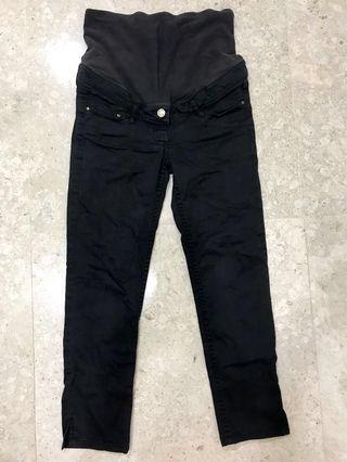 H&M Maternity Skinny Jeans Black (Pregnancy Pregnant)