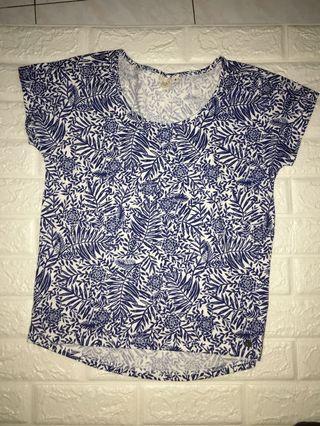 New Roxy 藍色 短袖