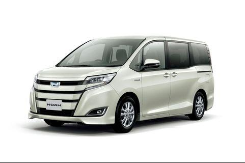 Cheapest PHV Toyota Noah hybrid for rental!
