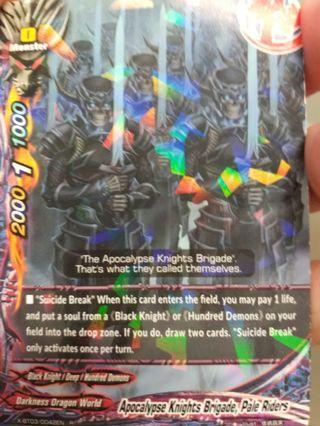 Buddyfight Cards DDW