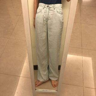 🚚 Leme studio淡藍薄款長褲