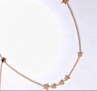 韓國設計小星空短鏈✨