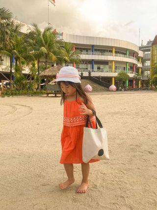 Gap orange dress