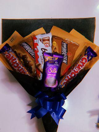 Chocolate bouquet 💐 for graduation/ mother's day/ birthday / anniversary/monthsary/ surprise for him / for her