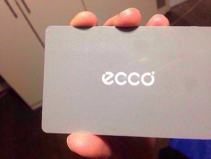 ECCO SHOES GIFT CARD 225$ value for 180$